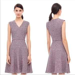 Rebecca Taylor Stretch Tweed Sleeveless Dress 6